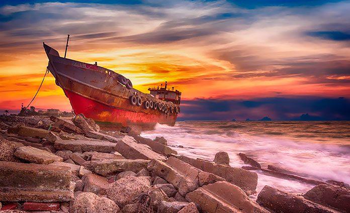 Los naufragios más impactantes de la historia.