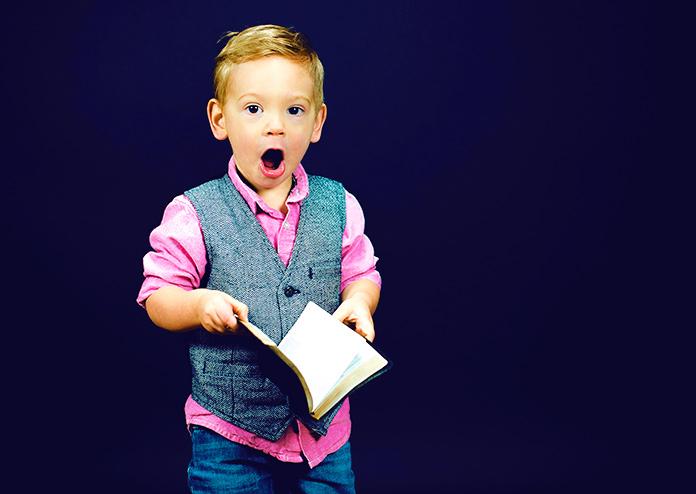 El niño que escribirá un libro sobre la Paz