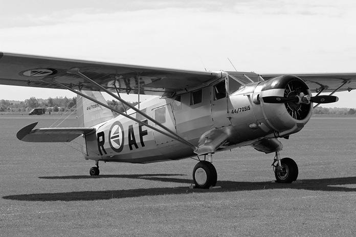 Avión Norseman UC-64A, modelo en el que viajaba Glenn MIller el día de su desaparición