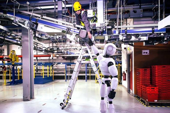 Representación de un robot hecha por Ocado
