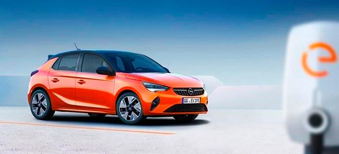 Opel Corsa-e vista lateral