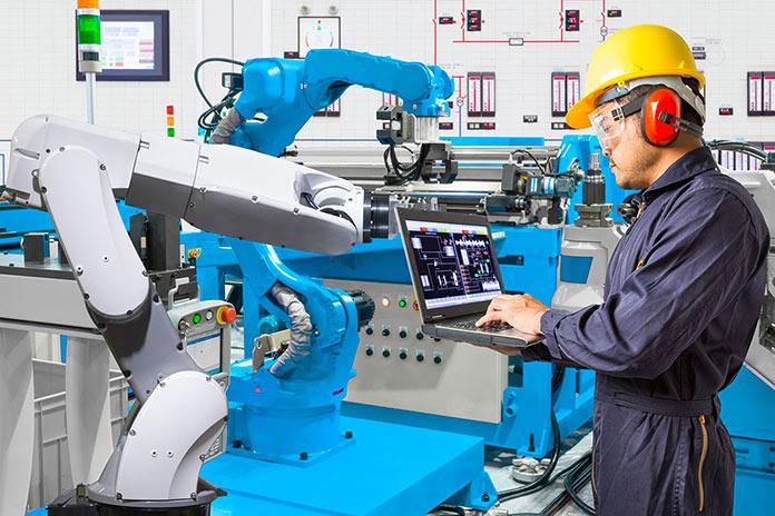 Operario de robots