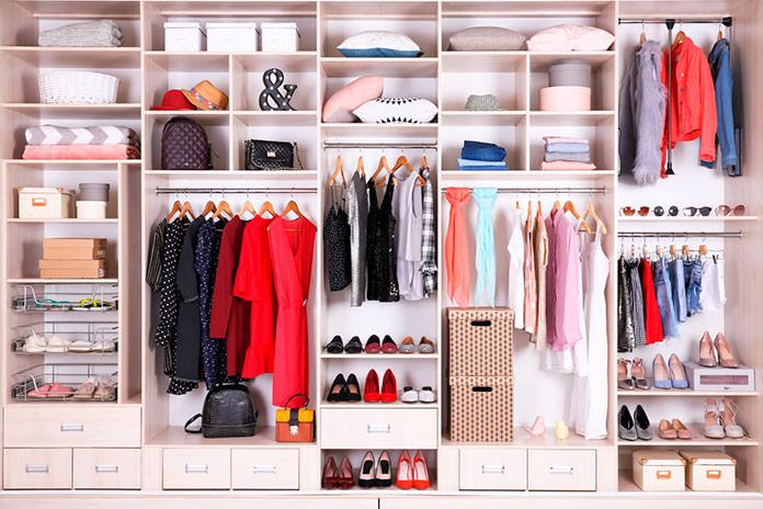 Dividir cada categoría y elegir un lugar específico para cada tipo de objeto