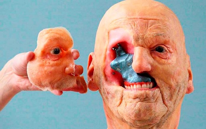Pieza 3D de reemplazo para la cara