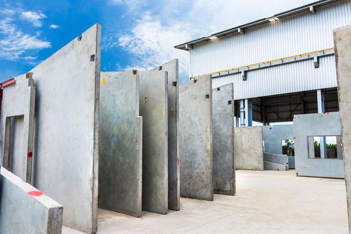 Paneles de hormigón para la construcción de casas