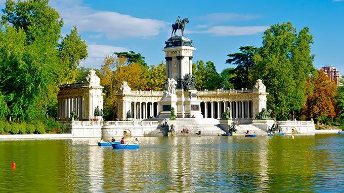 El Paseo del Prado y el Retiro, candidatos a la lista de Patrimonio Mundial de la Unesco.