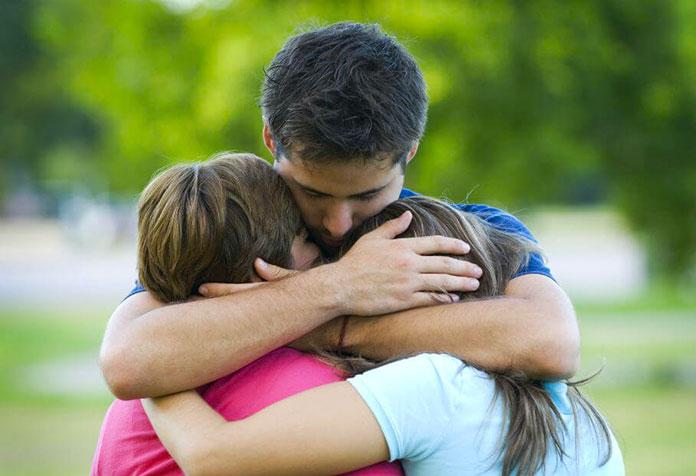 Padres e hijos adolescentes