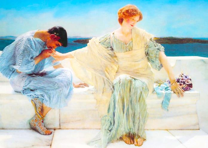 No me pidas más ( Lawrence Tadema - 1906)