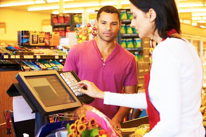 Personal de supermercado