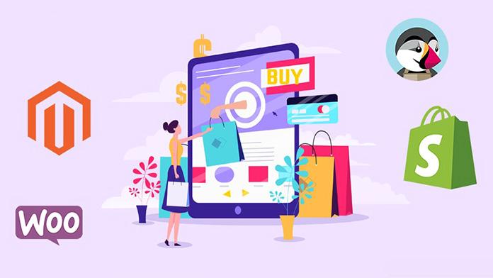Elige una plataforma en la que crear tu tienda