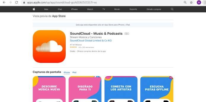 Plataformas de podcast - Soundcloud