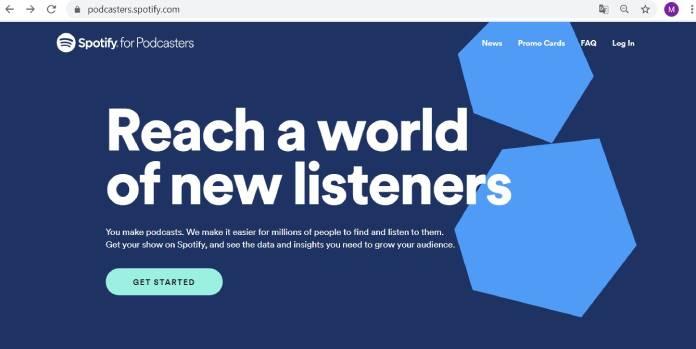 Plataformas de podcast - Spotify