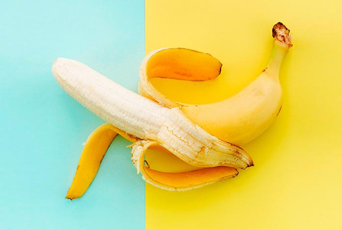 Plátanos para los pies secos