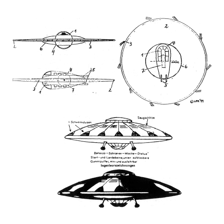 platillo volante- nazi
