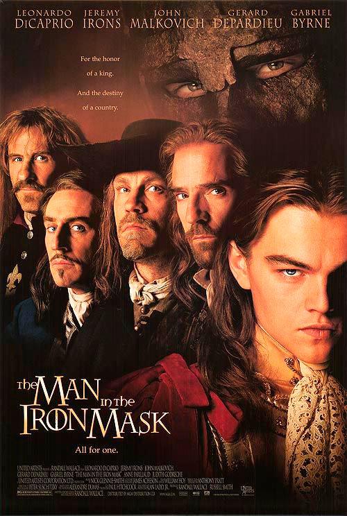 "Portada de la película ""The man in the iron mask"" (Wikipedia)"