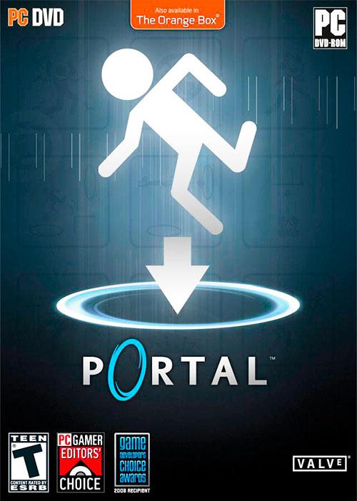 Portada videojuego Portal