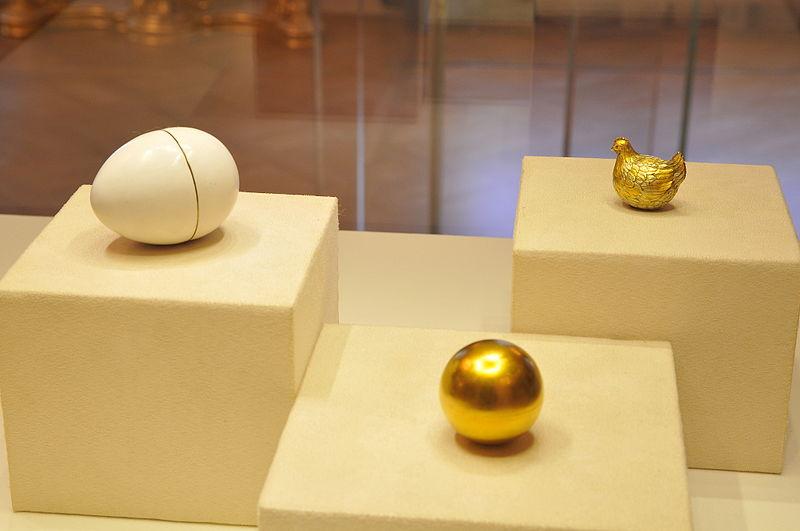 huevo de Pascua imperial de Fabergé