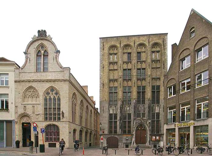 edificio de la familia Van Der Buërse