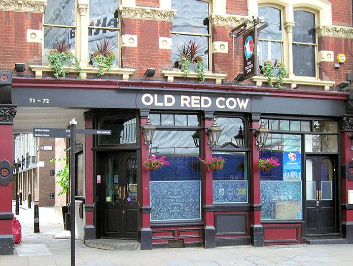 The Old Red Cow pub