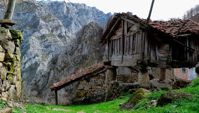 Pueblo abandonado de Biamón, Asturias