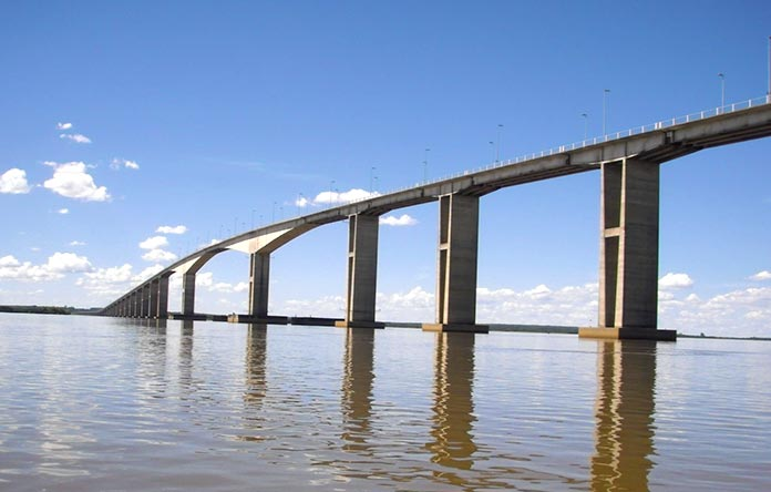 Puentes famosos - puente Libertador General San Martín