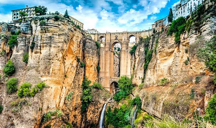 Puentes famosos - Puente Nuevo Ronda