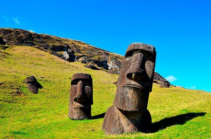 Moai de la Isla de Pascua