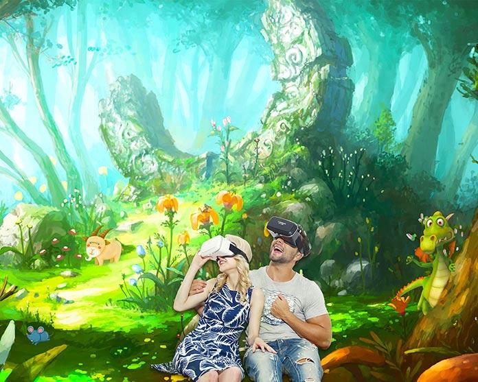Juegos online de realidad virtual