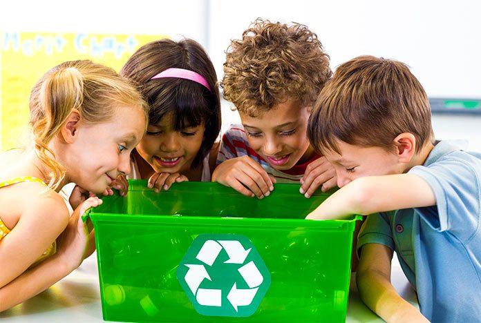 4 ideas ingeniosas para fomentar el reciclaje en los niños