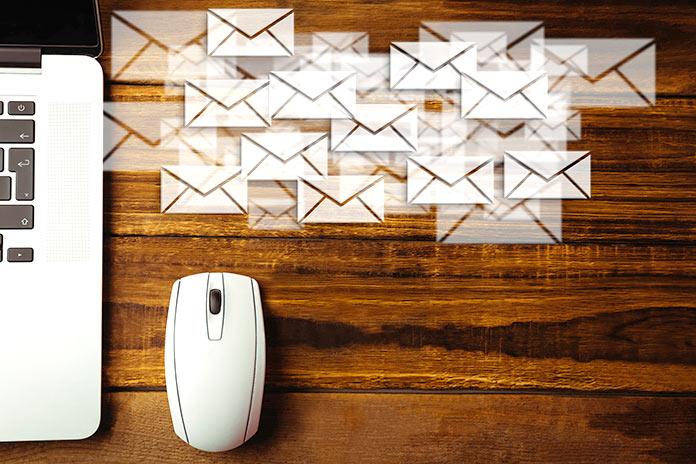Reduce la cantidad de correos que recibes