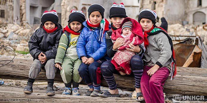La cifra de refugiados en el mundo aumentó a 68,5 millones en 2017