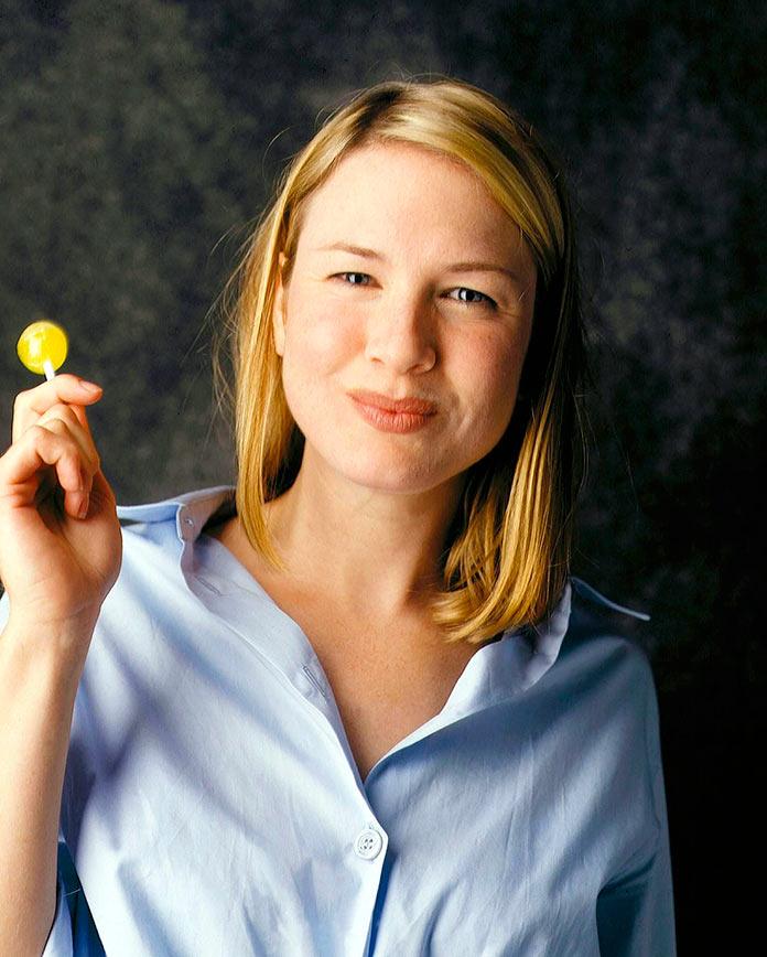 Renée Zellweger antes