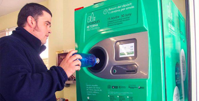 El sistema de retorno de envases será aplicado en el Reino Unido.