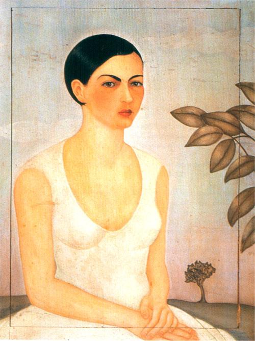 Retrato de Cristina Kahlo