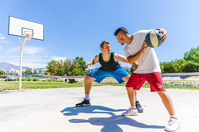 Rigidez muscular en baloncesto