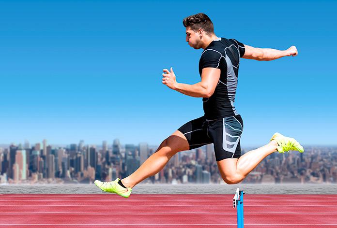 Rigidez muscular en corredores profesionales