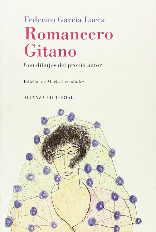 """Libro """"Romancero Gitano"""", Federico García Lorca"""
