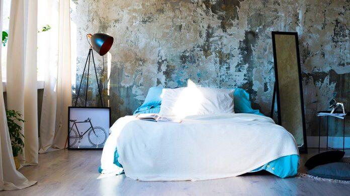 textiles en una habitación de hotel