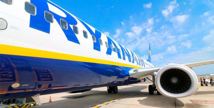 Ryanair presenta su nueva política medioambiental.