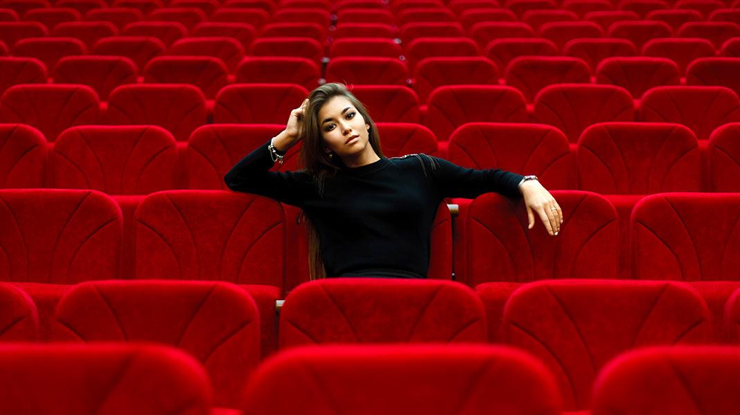 Este es el mejor asiento de una sala de cine