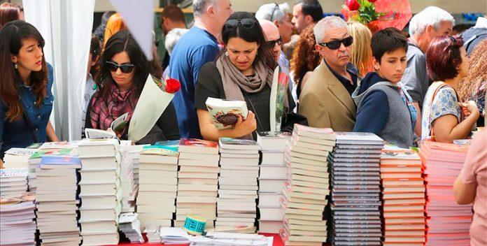Los libreros de Cataluña esperan con optimismo la celebración de Sant Jordi.