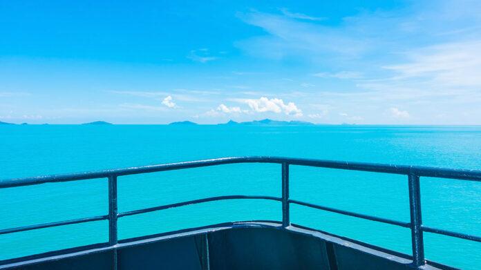 vistas desde un crucero