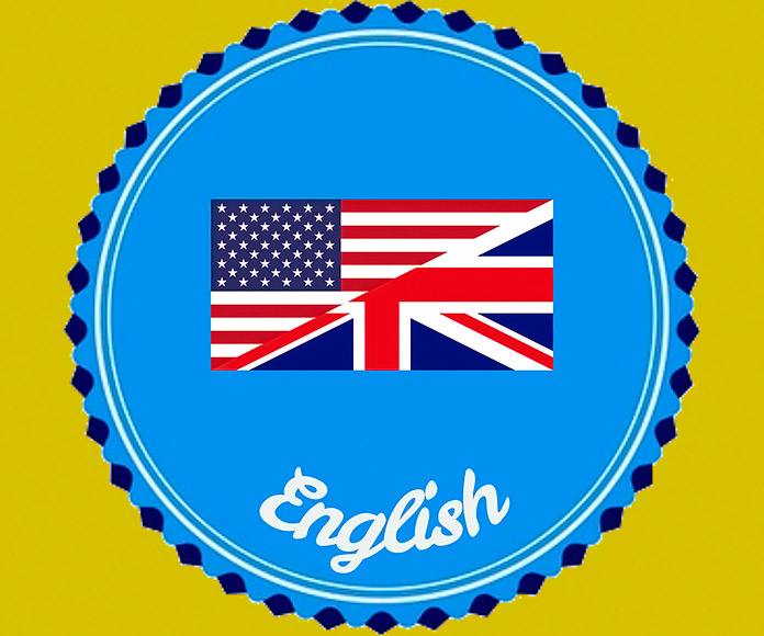 sello del idioma inglés