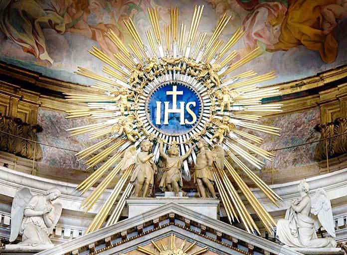 JHS Jesus Hommo Salvator