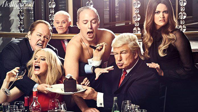 Foto promocional de la temporada 2017 de Saturday Night Live