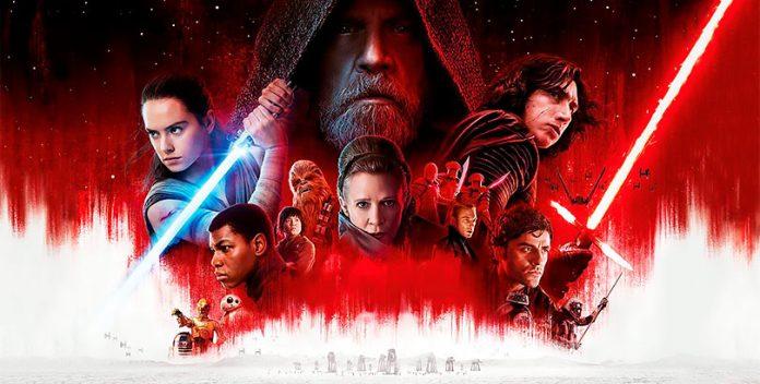 """Star Wars: """"El último Jedi"""" sobre Rey y Darth Vader."""