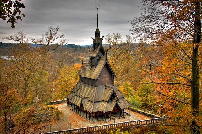 Iglesia stavkirke de Bergen