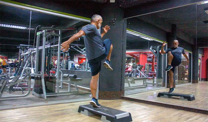 Step ejercicios de piernas