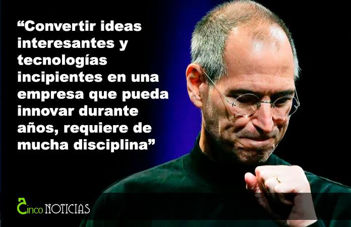 """""""Convertir ideas interesantes y tecnologías incipientes en una empresa que pueda innovar durante años, requiere de mucha disciplina"""""""