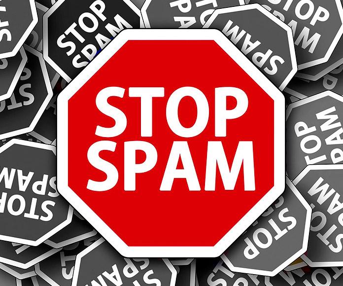 Señal de Stop Spam